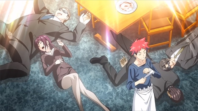 第3期放送開始!美食揃いの『食戟のソーマ』は肌色多め・K点超え続出アニメ!?